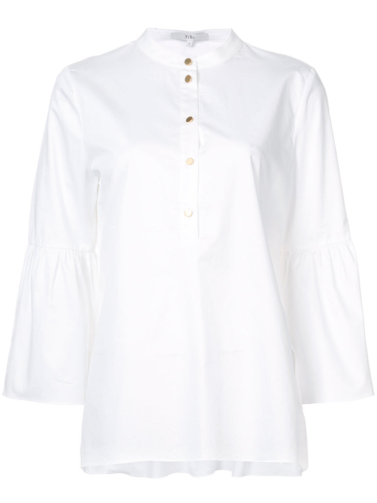 TIBI poplin tunic - EXCLUSIVE