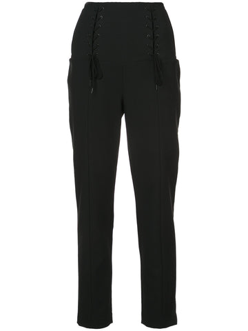 TIBI lace up front trousers