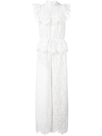 GANNI Jerome lace jumpsuit