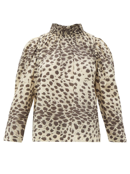 SEA Leo Long Sleeve Corded Top