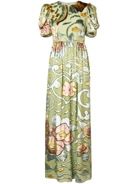 CO floral long dress
