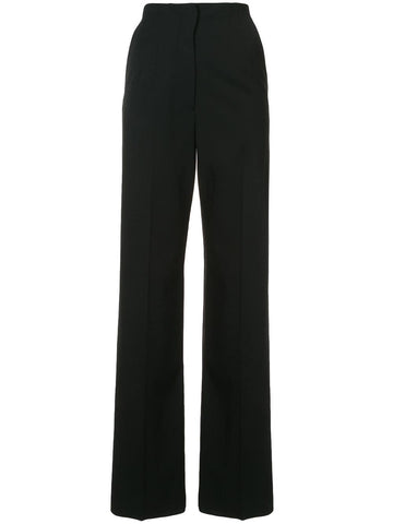 Proenza Schouler Wide Leg Pant Wool Suiting