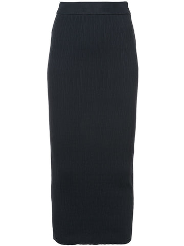 SIMON MILLER Marsing ribbed midi skirt