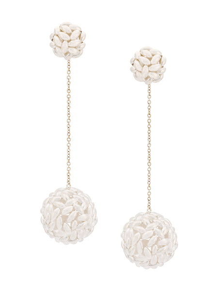 Bea Bongiasca Rice Ball Drop Earrings