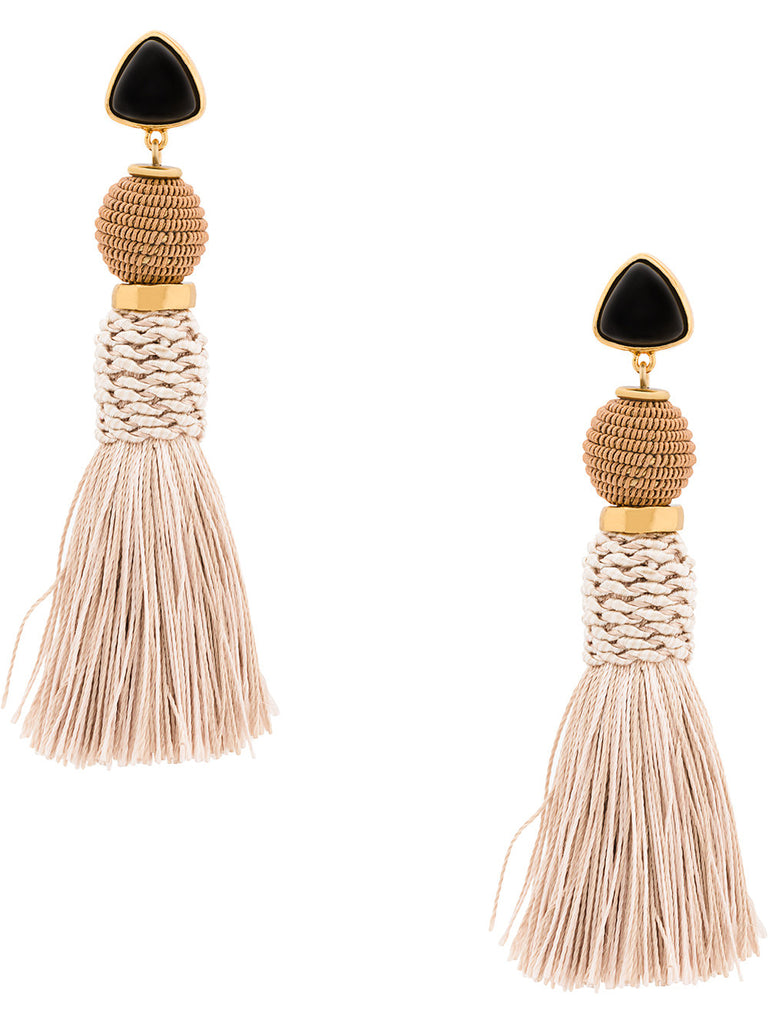 LIZZIE FORTUNATO JEWELS tassel drop earrings