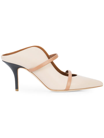 MALONE SOULIERS Maureen contrast strap mules
