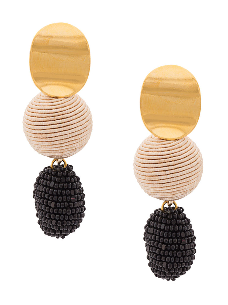 Lizzie Fortunato Nightfall Drop Earrings