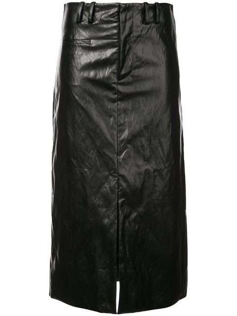 Nomia Slit front skirt
