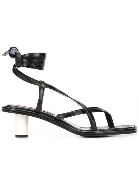 PROENZA SCHOULER Lace Up Open Toe Sandal