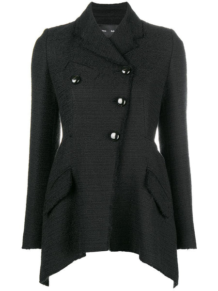 Proenza Schouler Asym Blazer Cotton Tweed