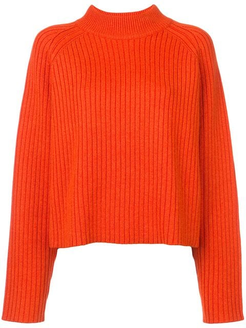 Proenza Schouler Crewneck with Slits Cashmere