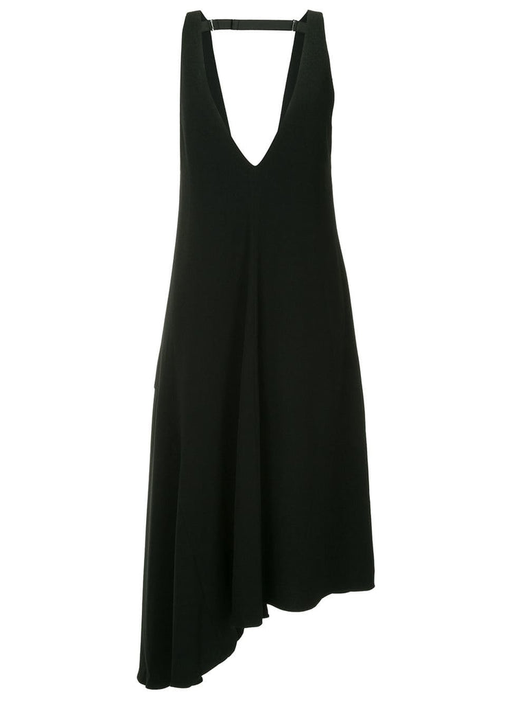 TIBI asymmetric hem dress