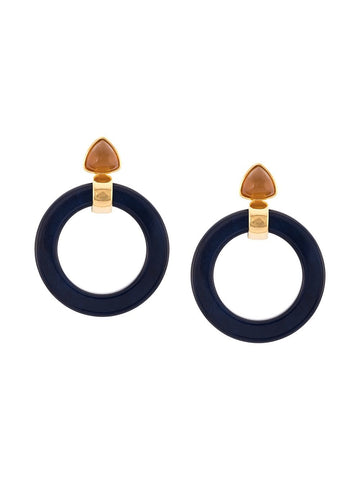Lizzie Fortunato Hoop Earrings in Cruise