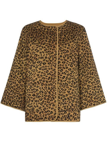 MARA HOFFMAN HAVEN Leopard Jacket