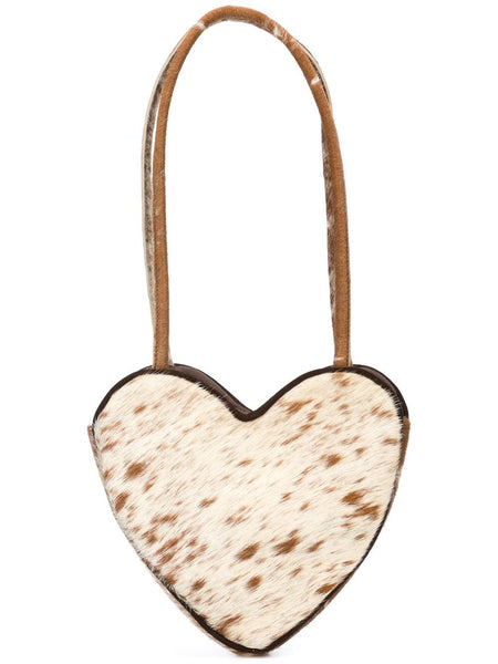 Maryam Nassir Zadeh HEART SHAPED BAG APPALOOSA PONY