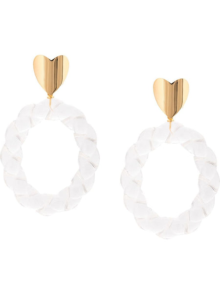 Lizzie Fortunato Saint Valentine Earrings