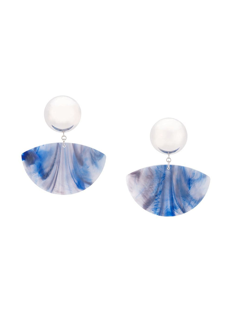 Rachel Comey SUSA Earrings Blue Marble