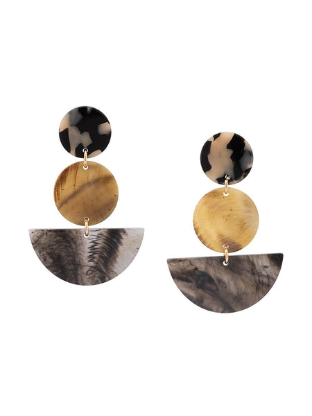 Rachel Comey NEALE Dalmatian Earrings