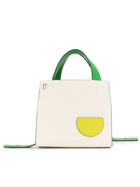 DANSE LENTE Margot Leather Tote Bag