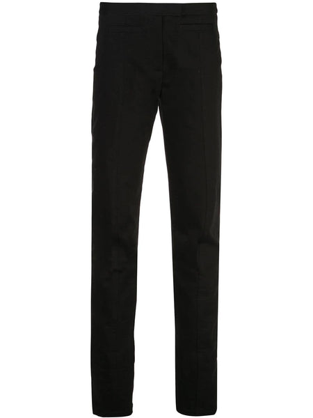 PROENZA SCHOULER Skinny Zip Pant-Cotton Suiting