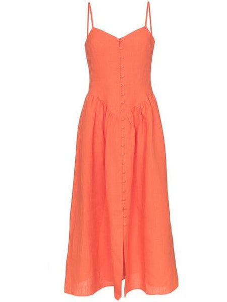 MARA HOFFMAN Mischa Sleeveless Fit and Flare Dress
