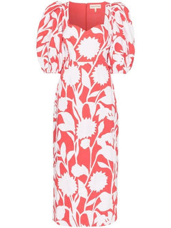 MARA HOFFMAN Celia Puff Sleeve Multi Print Dress