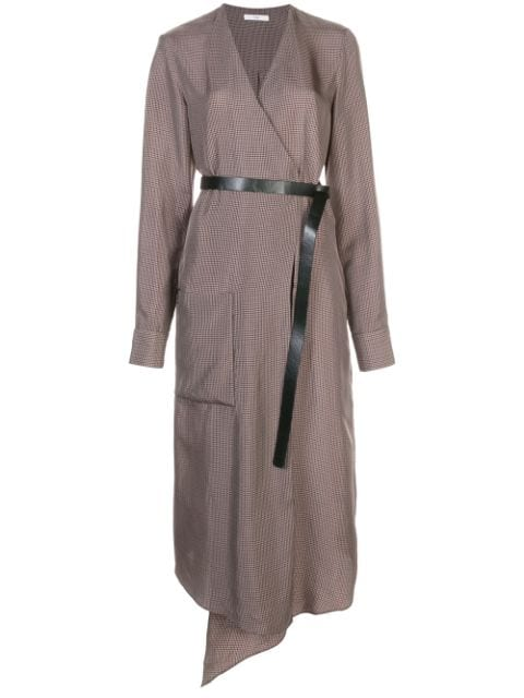TIBI Walden Wrap Dress