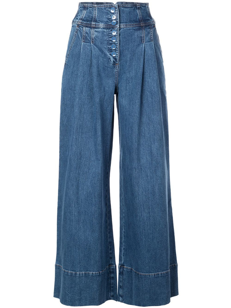 ULLA JOHNSON Billie Mid Wash Trouser