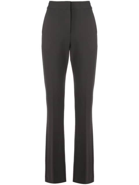 TIBI Bond Stretch Knit Jamie Bootcut Pant