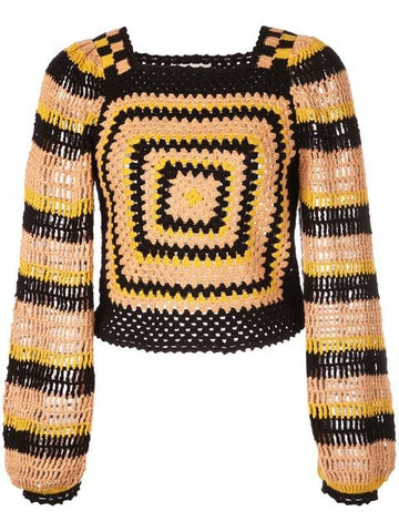ULLA JOHNSON Beso Pullover-Sunflower
