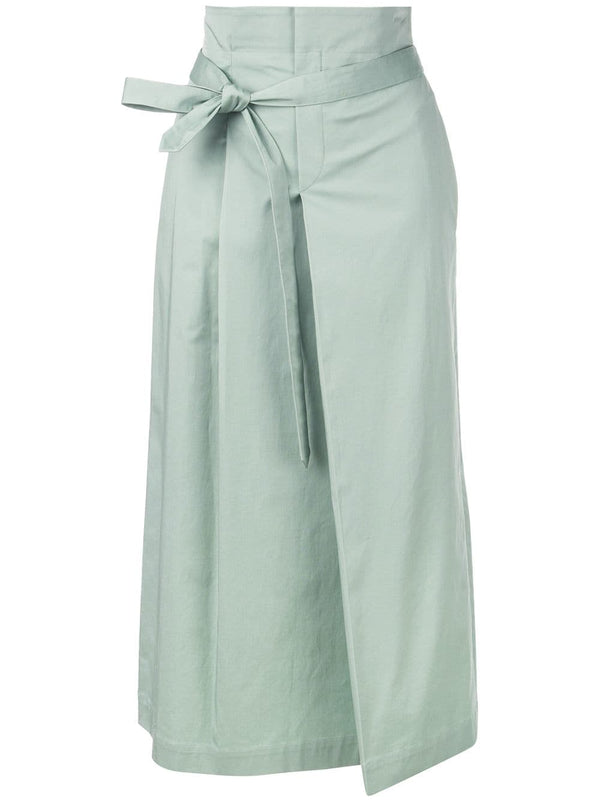 ROCHAS  Oenothera Woven Skirt w/ Zip back - Light/Pastel Green