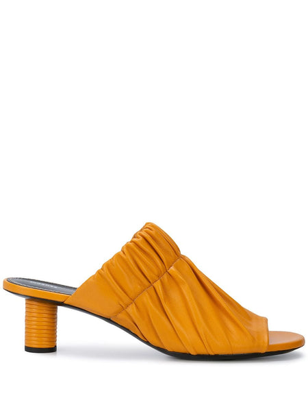 PROENZA SCHOULER Pleated Open Toe Mule