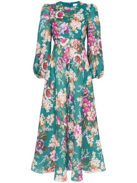 ZIMMERMANN Allia High Neck Dress