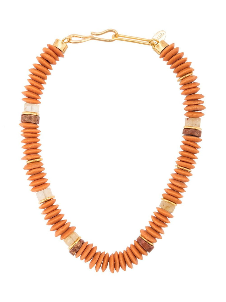 Lizzie Fortunato Laguna necklace -coral