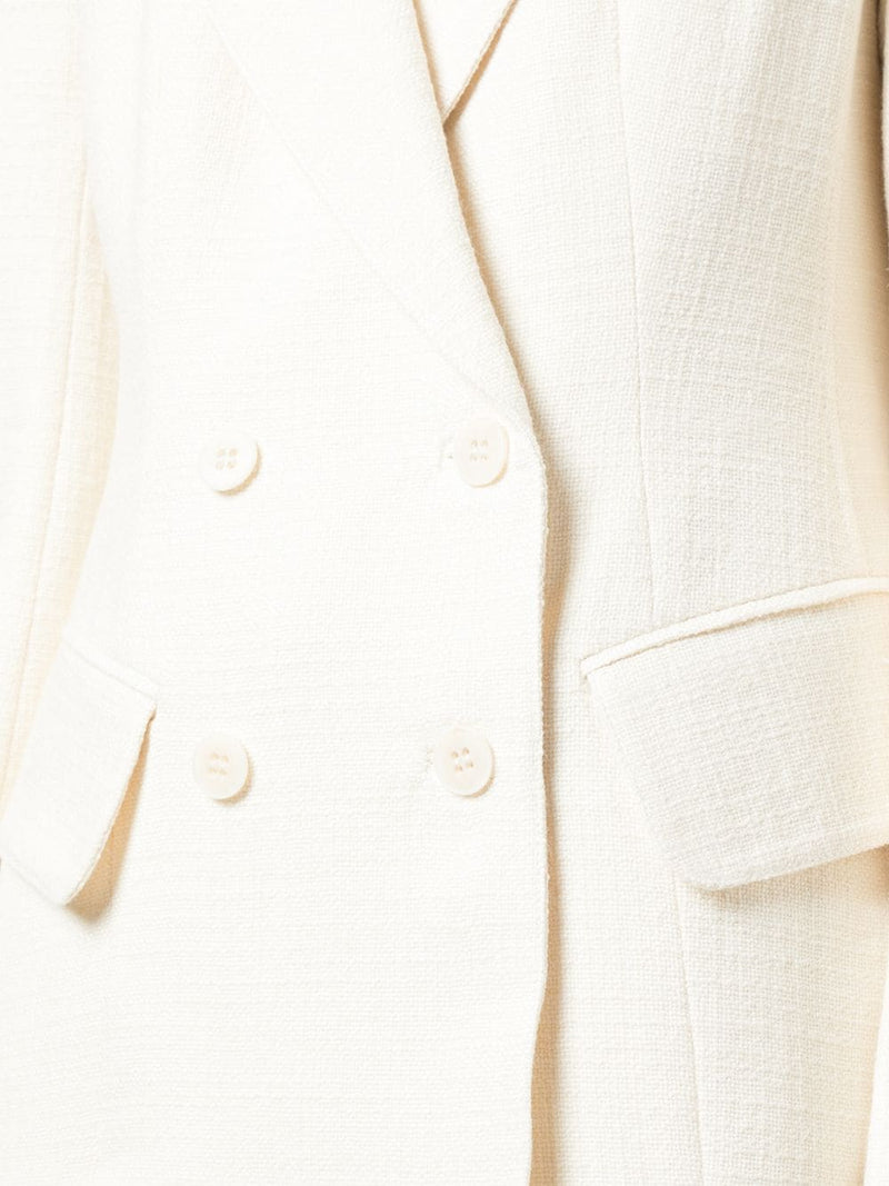 TIBI Basketweave Inside Out Sculpted Blazer