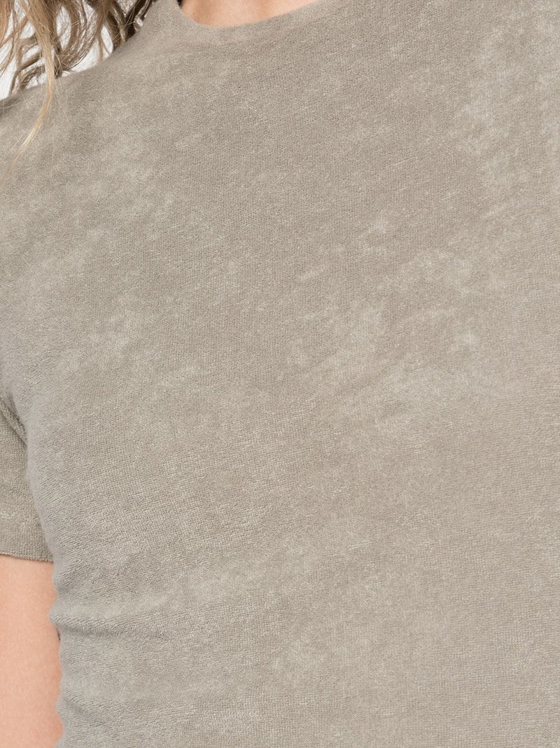 TIBI Dry Loop Terry Baby T-Shirt