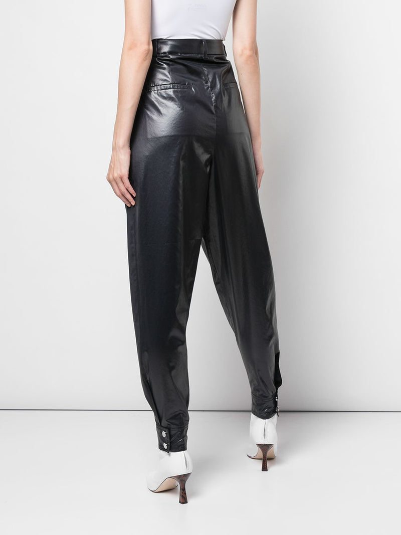 TIBI Liquid Drape Sculpted Pant - Dark Navy