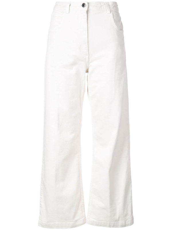 RACHEL COMEY Pennon Denim Jeans- Dirty White