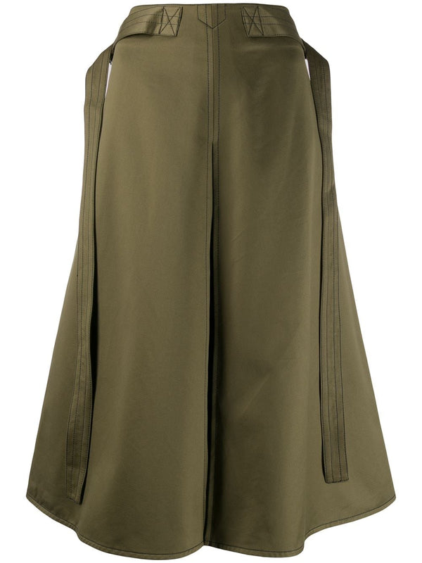 MARNI A-Line Cotton Skirt