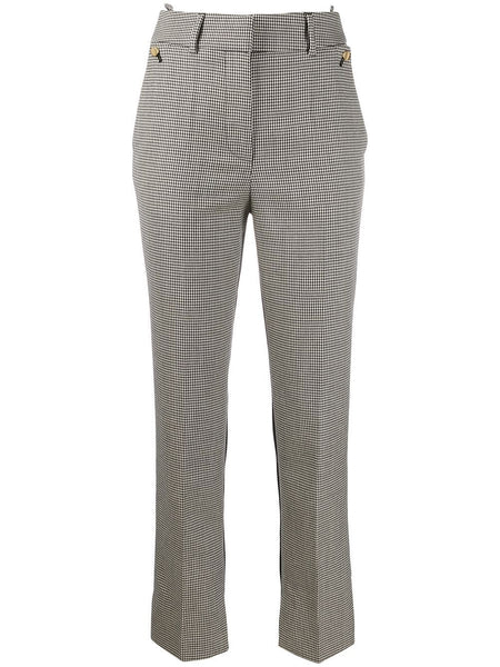 PETAR PETROV Helen Houndstooth Check Trousers