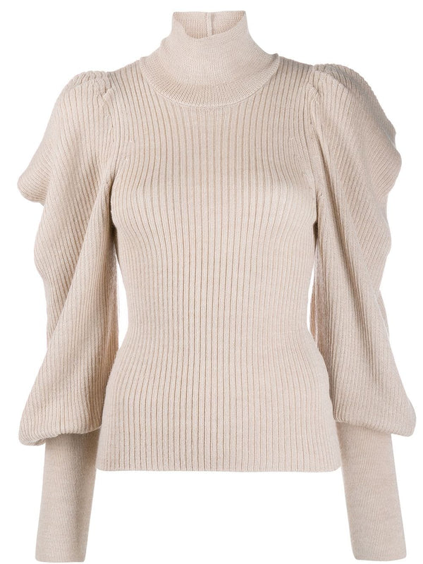 ULLA JOHNSON Tatum Turtleneck - Bone