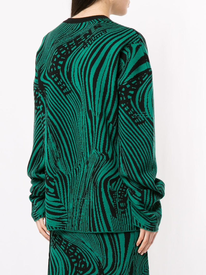 ROKH Psychedelic Sweater