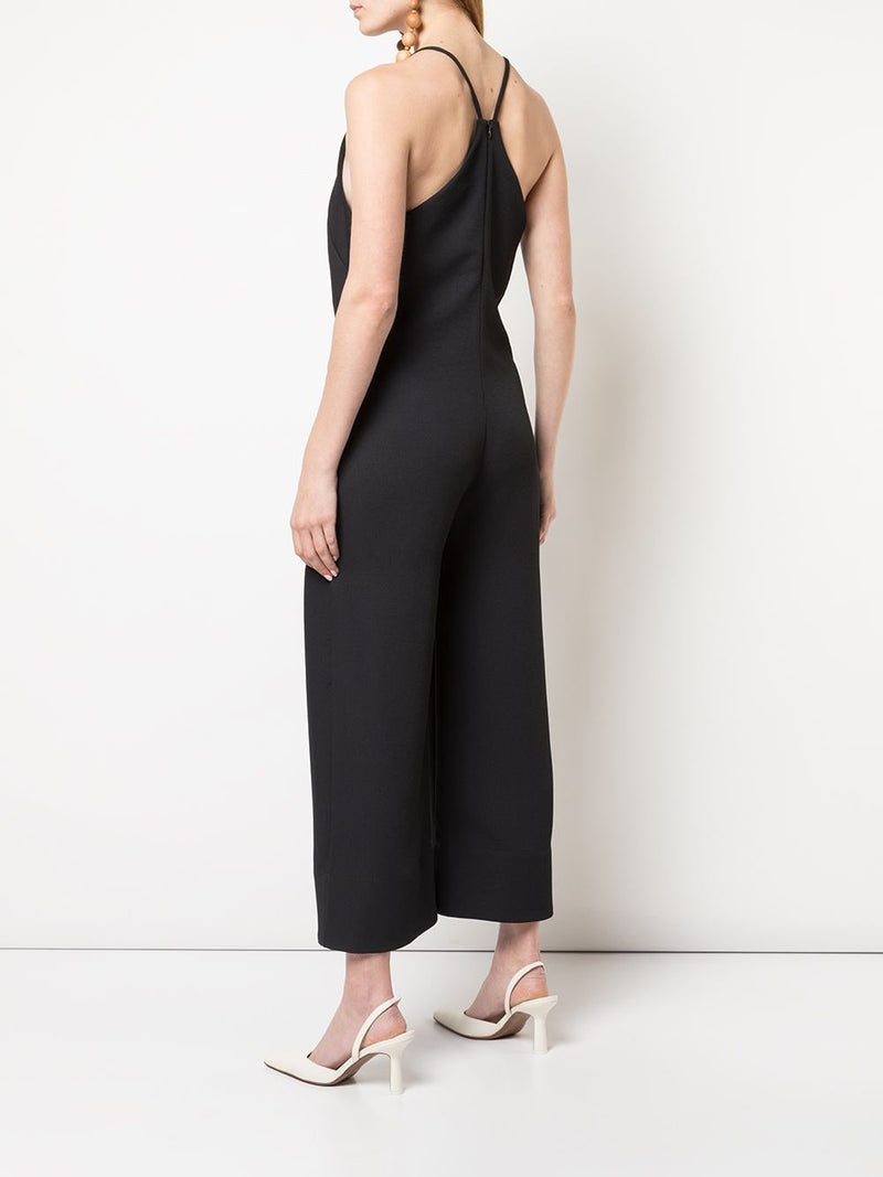 NOMIA Black V-Neck Jumpsuit