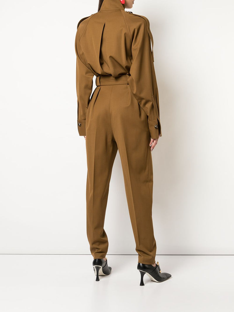 PROENZA SCHOULER Wool Suiting Jumpsuit