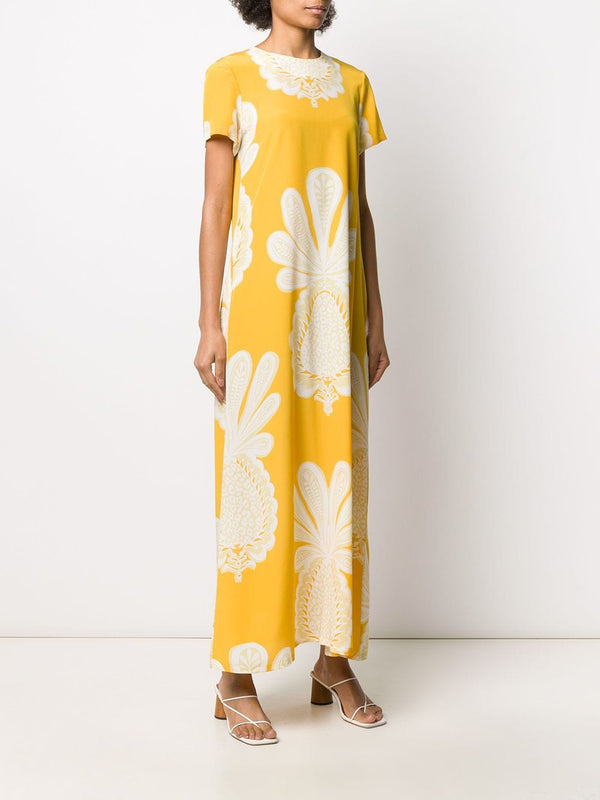 LA DOUBLEJ Silk Pineapple Dress (PRE-ORDER)