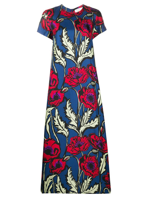 LA DOUBLEJ Silk Floral Swing Dress (PRE-ORDER)