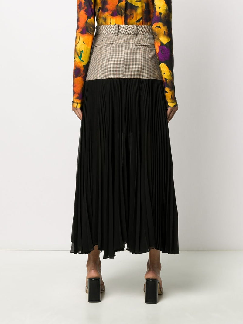 ROKH Fallow Pleat Skirt