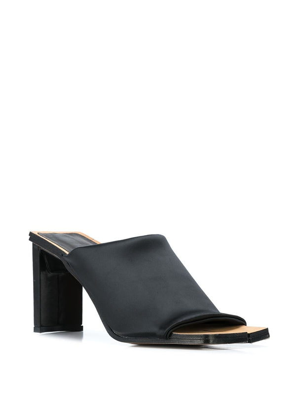 MIISTA Acadia Black Stretch Heels