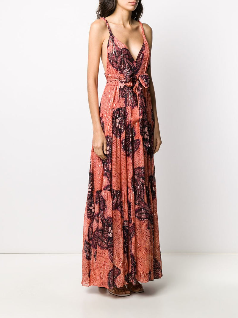 ULLA JOHNSON Kemala Dress - Coral