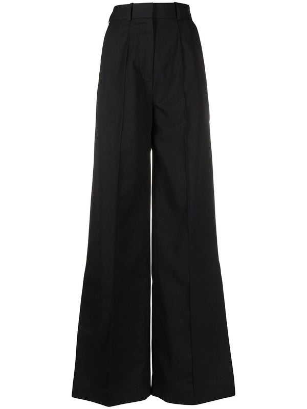 ROKH WIDE LEG TROUSER NAVY